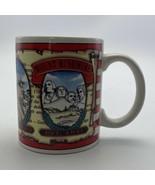 Mt Rushmore So. Dakota Black Hills Construction American Flag Kwc Coffee... - $7.52