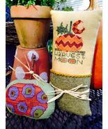 Harvest Moon cross stitch chart Amy Bruecken Designs - $7.20