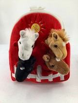 Unipak Horses Stable Plush Animal Backpack Stuffed Horse Animal - $14.95