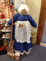 Vacuum Cover Soft Sculpture Grandma -Navy Blue includes shipping to Canada - $121.43