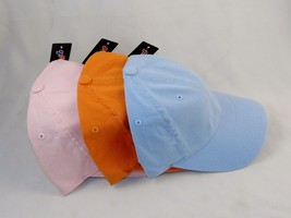 Ball Cap Hat Garment Washed Cotton 6-Panel Cap ~ #6997 Assorted Colors T... - $8.95
