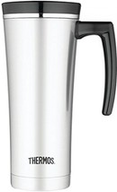 Thermos 16 Ounce Vacuum Insulated Travel Mug, Black - $38.99