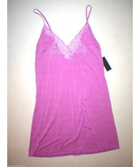 NWT New Designer Natori Large L Purple Chemise ... - $60.50