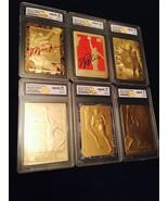 MICHAEL JORDAN AUTOGRAPHED GEMMT 10 1997 FLEER 1986 ROOKIE 23KT GOLD 6 C... - $79.99