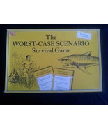 The WORST CASE SCENARIO Survival Board Game by ... - $24.49