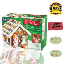 Paksh / Wilton Pre-Baked Christmas Holiday Ging... - $25.68