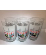 Kentucky Derby 117 Glasses Lot of 3 Mint Julep Horse Racing Cup may 4 1991 - $48.51