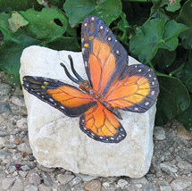 Monarch Butterfly Lost Wax Bronze Casting Collectible Sculpture Statue - $69.95