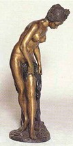"50""H Jumbo ""Bather"" Nude Girl Lost Wax Bronze Statue Sculpture signed Fa... - $4,500.00"