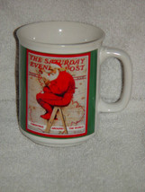 Norman Rockwell Christmas Around The World Coffee Cup The Saturday Eveni... - $12.00