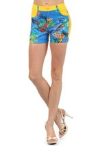 Fashion Mic Womens Summer Shorts (large, marilyn floral) - $17.81