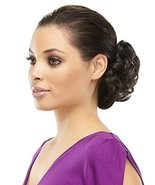 Funbun Curly Synthetic Hair Wrap Elastic Band Women's Hairpiece Chignon ... - $18.85