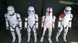Star Wars 11-Inch Stormtroopers, Lot Of 4 Different - $28.04