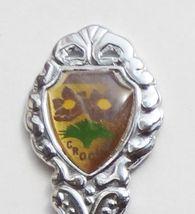 Collector Souvenir Spoon Canada Manitoba Brandon Crocus - $4.99