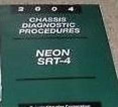 2004 Dodge Chrysler Neon Chassis Diagnostic Procedures Manual Oem Mopar - $13.32