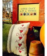 One Day At A Time cross stitch chart Amy Bruecken Designs - $7.20