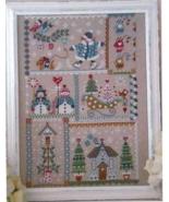 Winter In Quilt cross stitch chart Cuore e Batticuore  - $14.40