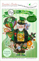 Spirit of Oz Santa Ornament Chart only cross stitch Brooke's Books  - $9.00