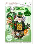 Spirit of Oz Santa Ornament Chart only cross stitch Brooke's Books  - $9.00