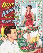 VINTAGE UNCUT 1954 OZZIE & HARRIET PAPER DOLLS~#1 REPRODUCTION~FANTASTIC... - $19.50