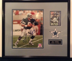 Troy Aikman autographed and framed photo - $249.99