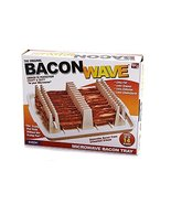 Bacon Wave - Kitchen Microwave Cooking Tray / Rack Grease Draining Device - €9,44 EUR