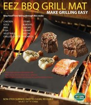 BBQ GRILL MAT - Make Grilling Easy! EEZ BBQ GRILL MAT - $9.79