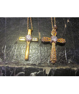 Costume Jewelry 2 Crosses - $4.03