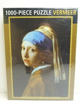 Vermeer Girl With A Pearl Earring 1000 Pc Family Friend Fun Entertain Gi... - $32.66