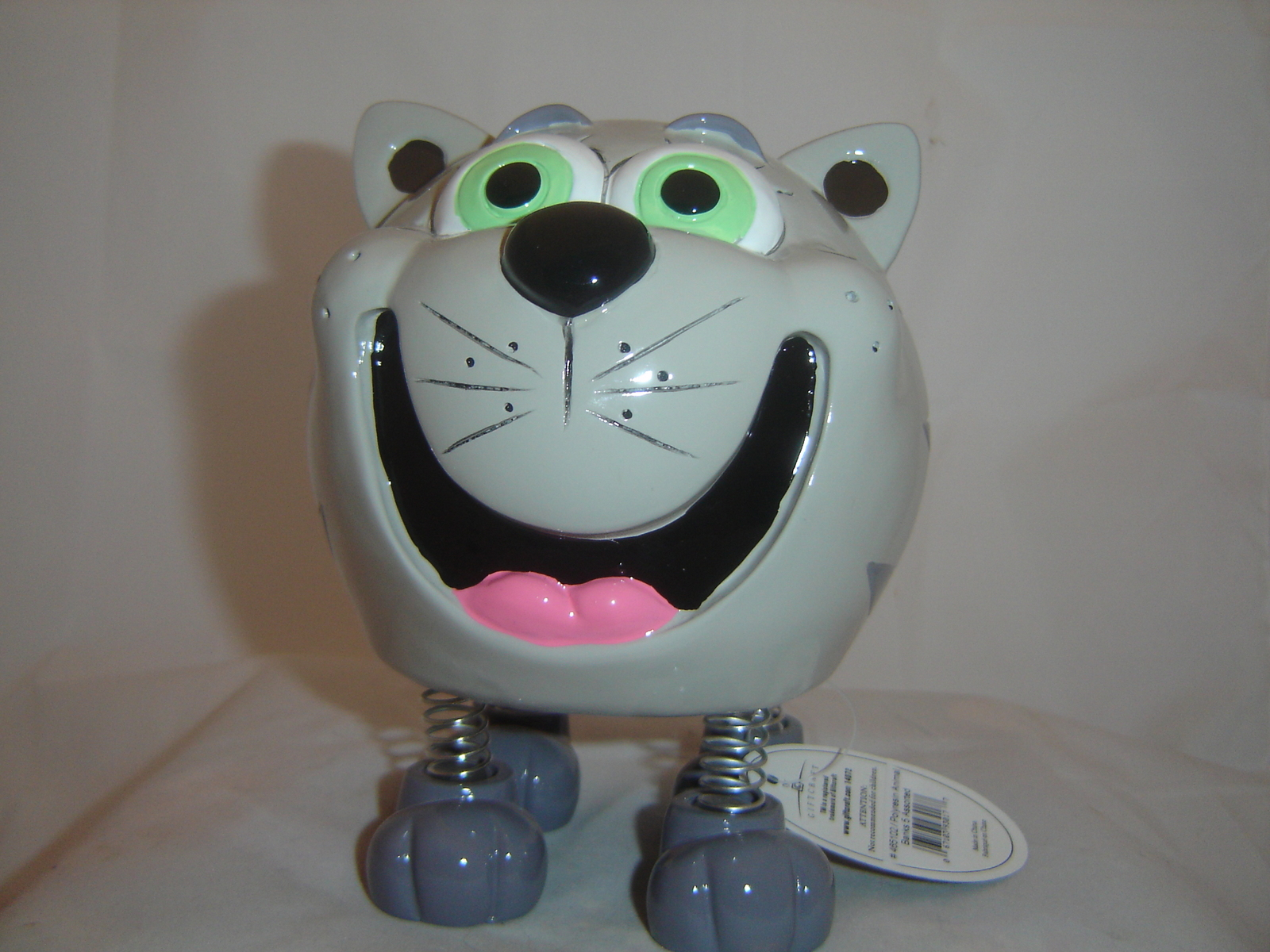 Cat Animated Character Money Piggy Bank Durable