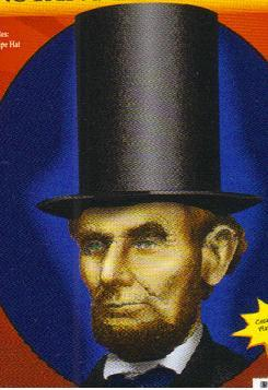 ABRAHAM LINCOLN INSTANT DISGUISE KIT ONE SIZE