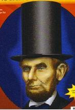 ABRAHAM LINCOLN INSTANT DISGUISE KIT ONE SIZE - $18.00