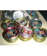 Topp's Baseball Collectible Team disks lot of 131 Disks year 1990 - $8.95