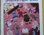 Stitched Paper Dolls Stoney Creek Book 167 Cross Stitch Patt - $7.25
