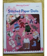 Stitched Paper Dolls Stoney Creek Book 167 Cros... - $7.25