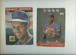 2 DWIGHT GOODEN 3D baseball cards vintage Topps 1985-86 - $12.00