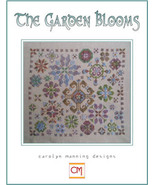 The Garden Blooms cross stitch chart CM Designs - $9.00