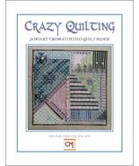 January Block - Crazy Quilting cross stitch chart CM Designs - $6.30