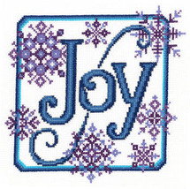 Joy Snowflakes christmas cross stitch chart Imaginating - $5.40