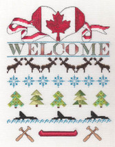 Canada Day cross stitch chart MarNic Designs  - $7.20