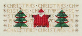 Christmas Christmas Christmas cross stitch chart MarNic Designs  - $7.20