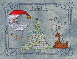 Winter cross stitch chart MarNic Designs  - $7.20