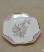 Vintage SB & SON England Napkin Fold Design Trinket Dish // Pin Dish - $8.00