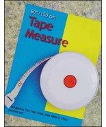 """Tape Measure 6' measuring tape 2"""" dia reel Yarn... - $2.50"""