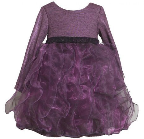 Bonnie Jean Baby Girls' Ruffled Party Dress 3T Purple [Apparel]