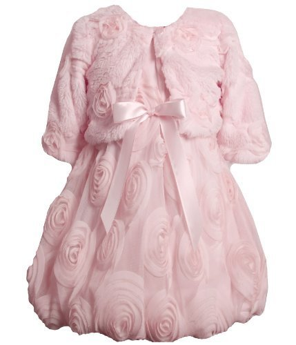 Bonnie Jean Girls 2-6X Bonaz Bubble Dress PK3SA, Pink [Apparel]