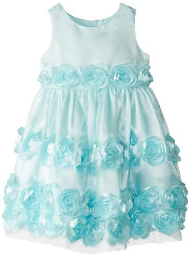 Bonnie Jean Little Girls' Bonaz Party Dress, Mint, 4T [Apparel]