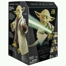 Star Wars Legendary Jedi Master Yoda Force Awakens Interactive Figure Mo... - $266.48
