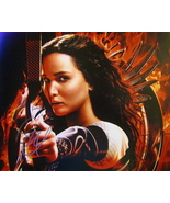 JENNIFER LAWRENCE AUTOGRAPHED Hand SIGNED 11X14 PHOTO w/COA HUNGER GAMES  - $149.99