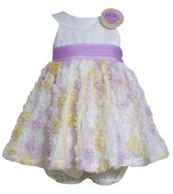 Purple Yellow Ivory Mini Die Cut Bonaz Mesh Overlay Dress PU1HB, Purple, Bonn...